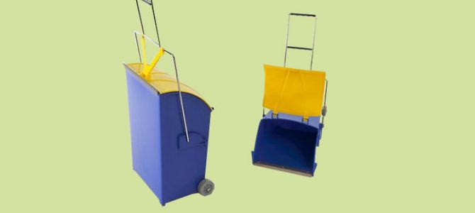 Art. 404 – Pattumiera Trolley LT.15